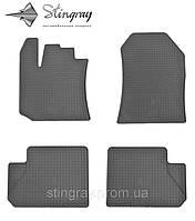 Комплект резиновых ковриков Stingray для автомобиля  Dacia Dokker 2012-    4шт.