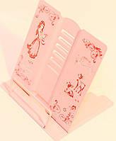 Подставка для книг металлическая princess 7435