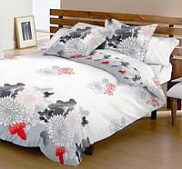 Семейный набор хлопкового постельного белья Ранфорс №7235imperial Viluta™