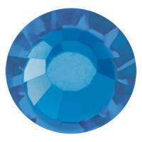Стразы в цапах Preciosa (Чехия) ss30 Crystal Bermuda Blue/серебро