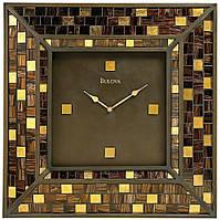 Часы настенные BULOVA C4105 ( 559 х 559 х 51 мм) [Стекло]
