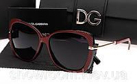 Солнцезащитные очки Dolce&Gabbana (6528) бордовый, фото 1