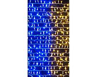 Гирлянда Xmas 320 BY в виде флага Украины (только ящиком 40 шт.) se