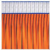 Тесьма шторная тканевая Равномерная складка, ширина тесьмы 17 см