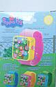 Смарт часы детские музыкальные Свинка Пеппа Синие, фото 3