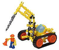 Огромный оригинальный конструктор ZOOB Z-Strux Scorpion Driller! 81 деталь! Уценка!