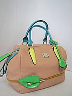 Женская  сумка  Velina Fabbiano с цветком