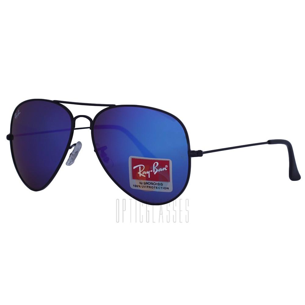 Очки солнцезащитные Ray Ban 3026 Aviator blue