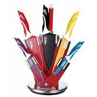 Набор ножей (нерж) FRICO FRU-949, 8 шт, крутящаяся подставка