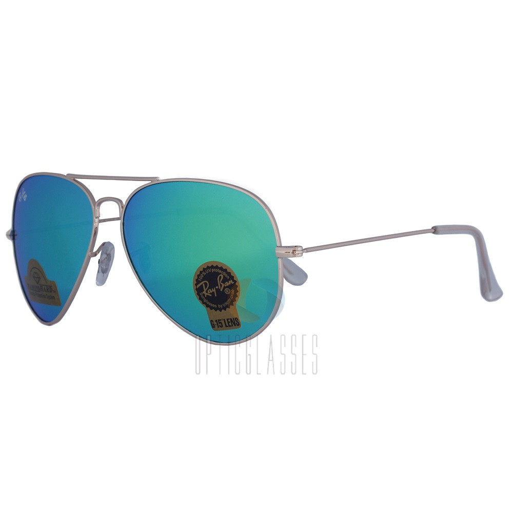 Очки Ray Ban 3026 Aviator (green)