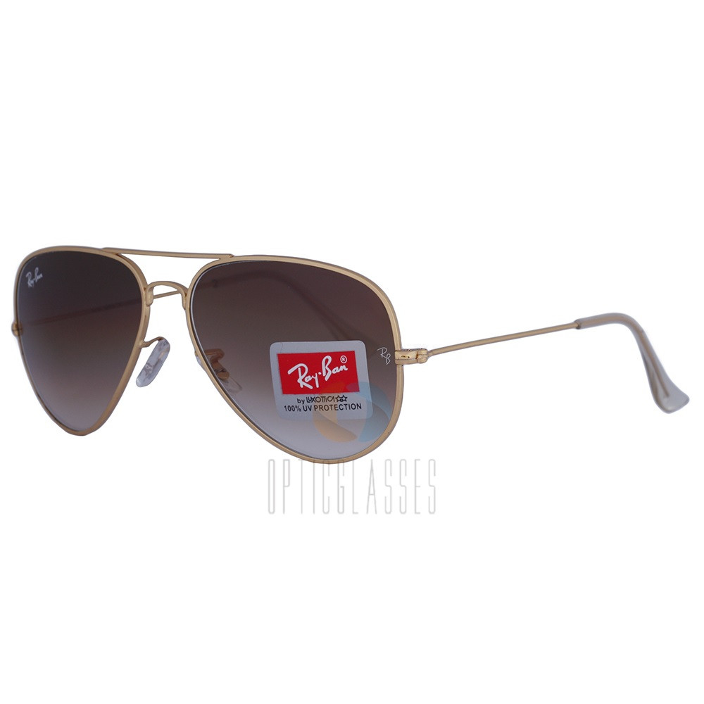 Очки Ray Ban Aviator 3026 brown gradient