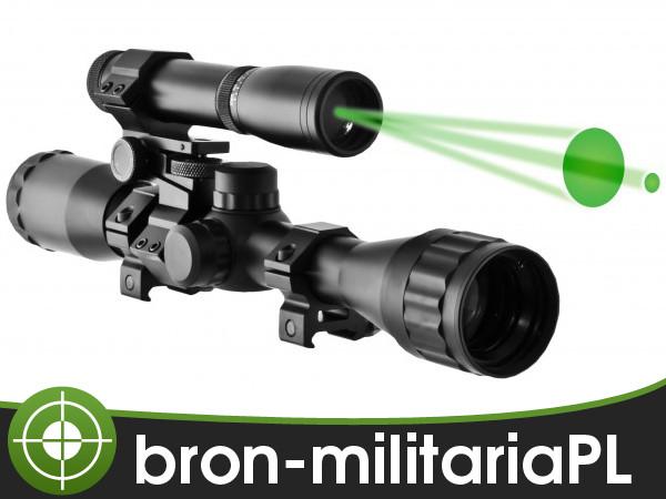 Прицел оптический + лазерный целеуказатель ND30 Arctic