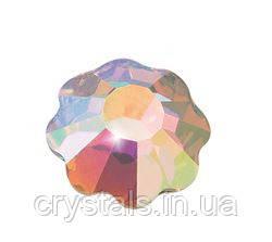 Стразы-цветочки Preciosa (Чехия) ss16 Crystal AB