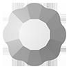 Стразы-цветочки Preciosa (Чехия) ss20 Crystal Labrador