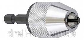 Быстро-зажимной сверлильный патрон Ø 0.5 - 6.5 мм KWB