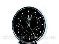 Сучасний дизайн настінні годинники з кристалами металеві