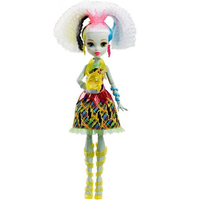 """Кукла """"Высоковольтная Френки"""" из м/ф """"Под напряжением"""" Monster High"""