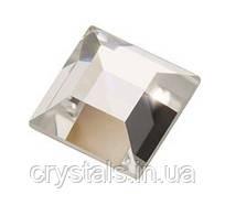 Стразы-квадраты горячей фиксации Hot Fix Preciosa (Чехия) 4х4 мм Сrystal