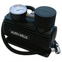 Автомобильный компрессор с манометром AUTO WELLE Германия!