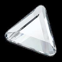 Стразы-треугольники горячей фиксации Hot Fix Preciosa (Чехия) Сrystal 6 мм
