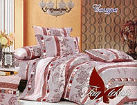 Постельный комплект двуспальный ранфорс ТМ TAG Сандра,постельное белье оптом