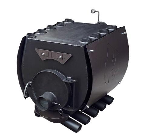 Буржуйка булерьян с варочной поверхностью и защитным кожухом тип 01
