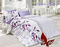 Комплект постельного белья 2 спальный ренфорс ТМ TAG Самба лилов,постельный белье