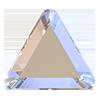 Стразы-треугольники Preciosa (Чехия) Сrystal AB 6 мм