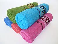 Махровое банное полотенце 140х70см (кольца)
