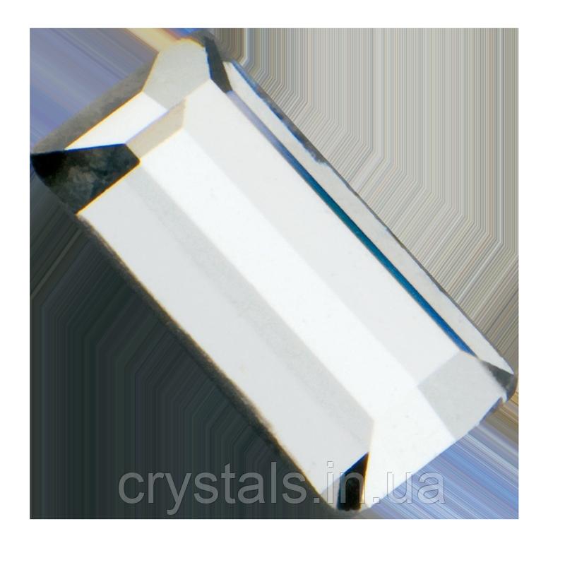 Стразы-прямоугольники горячей фиксации Hot Fix Preciosa (Чехия) Сrystal 5x2.5 мм