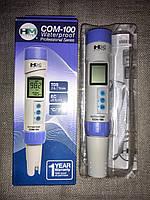 Комбинированный кондуктометр/солемер «COM-100» от компании «HM Digital Inc.» USA