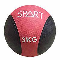Мяч гимнастический, медицинский, утяжеленный 3 кг для дома и спортзала, Киев