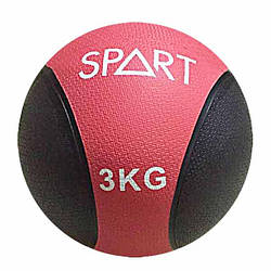 Мяч гимнастический, медицинский, утяжеленный 3 кг для дома и спортзала