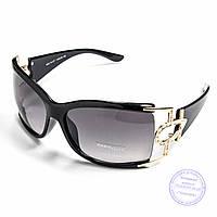 Оптом женские солнцезащитные очки - Коричневые и черные - 2353, фото 1
