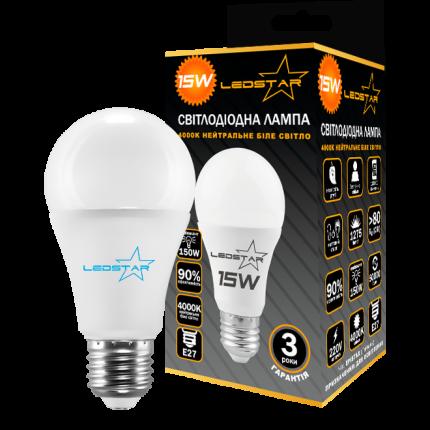 Светодиодная лампа LedStar 12W Е27 4000К