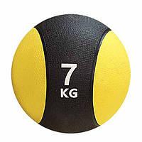 Мяч гимнастический, медицинский, утяжеленный 7кг для дома и спортзала, Киев