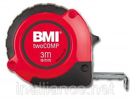 Рулетка измерительная 3 метра twoCOMP BMI 472341021