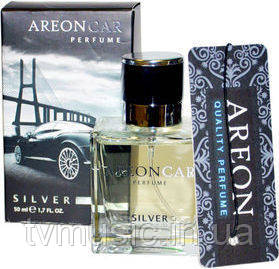 Ароматизатор Areon Car Perfume Silver / Серебро