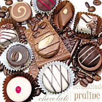 """Салфетки бумажные декоративные """"Fine Chocolate """""""