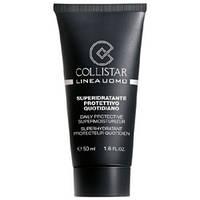 COLLISTAR Защитный увлажняющий крем для мужчин 50 мл + миниатюра лосьон после бритья 15 мл