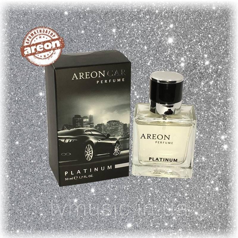 Ароматизатор Areon Car Perfume Platinum / Платиновый