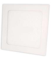 Светодиодный светильник Biom 12W 3000К квадратный белый