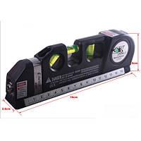 Уровень строительный Laser Level Pro 10 со встроенной рулеткой 2,5 м