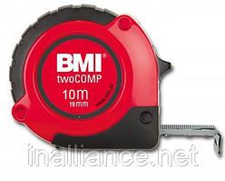 Рулетка измерительная 10 метров twoCOMP BMI 472041021