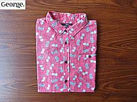 Крутая мужская тенниска / рубашка George (XL)