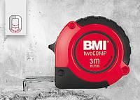 Рулетка измерительная 3 метра магнитная twoCOMP BMI 472341021M, фото 1