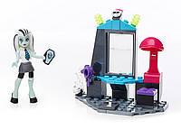 Игровой набор, конструктор Мега Блокс Mega Bloks Monster High School Teen Scream Salon Set !Оригинал