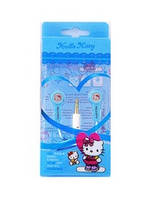 Н-ки mp3 вакуум Hello Kitty M-159 Blue-White