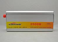 Преобразователь напряжения Konnwei 2500W 12DC