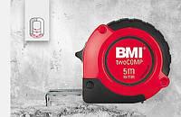 Рулетка измерительная 5 метров магнитная twoCOMP BMI 472541021M, фото 1